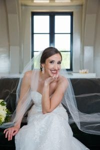 Mary kate bridal at rRd Berry Estate on the sofa